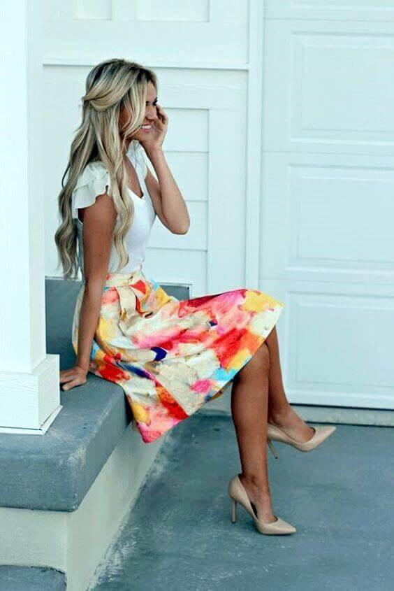 38 foton av sommaraffärens casual klädsel för Wom