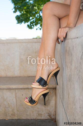 Trämulor för damer - fashiondiys.com 2020    Heeled flip.
