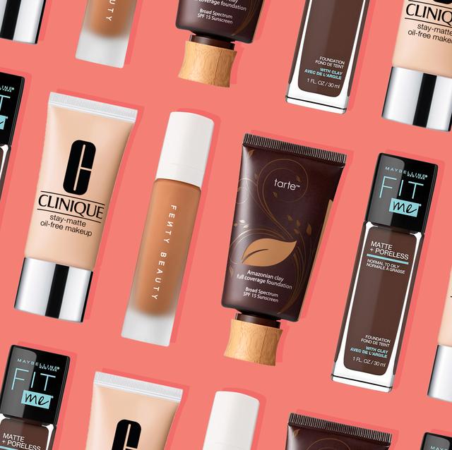 11 bästa stiftelserna för fet hud 2020 - Långvarig matt make