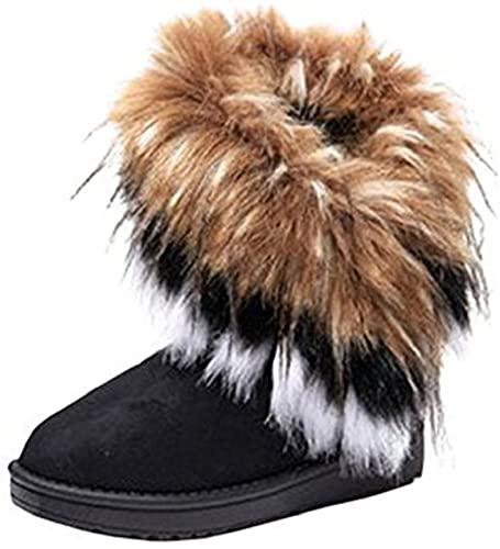 Amazon.com    Varma päls vinterstövlar för kvinnor - snygga kvinnor.