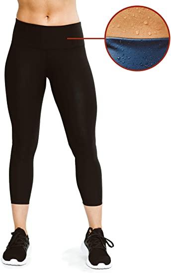 Amazon.com: Sweat Shaper kvinnors leggings, kompression bantning.