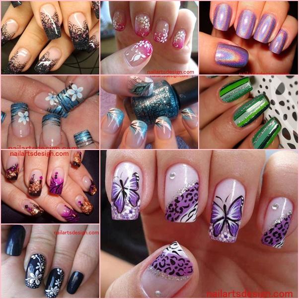 DIY Nail Art Designs Ideas, Inspirati