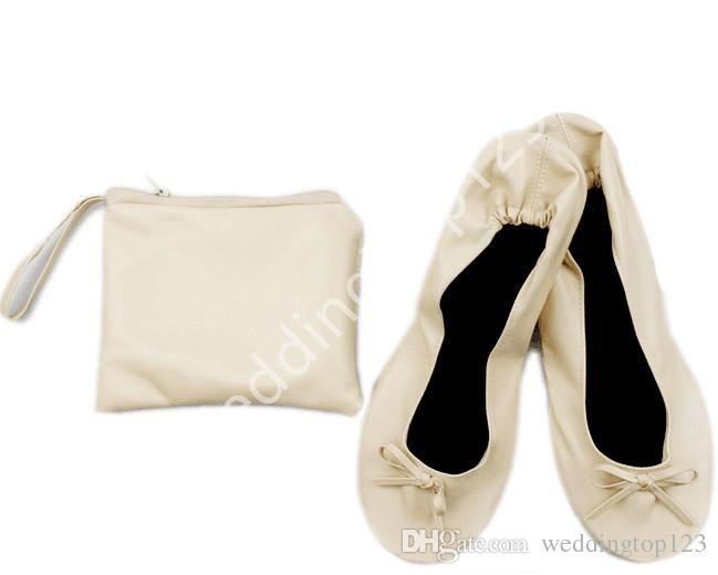 Vikbara ballerinor för kvinnor (med bilder)    Upp skor, Silver.
