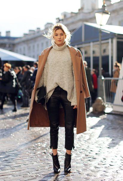 Den bästa gatan ser ut från London Fashion Week # 1    Snygg.