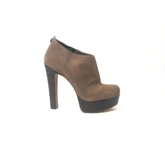 SCHUTZ skor |  Kvinnors platåstövletter storlek 10 solbränna |  Poshma