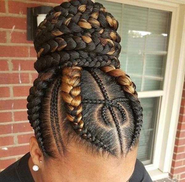 145 bästa Cornrow Braids Hairstyl