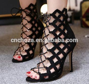 Sandaler med häl för damer - fashiondiys.com 2020 |  Kvinnor.