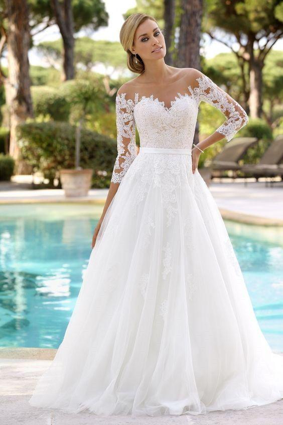 Hur man väljer fantastiska strandbröllopsklänningar #bröllopsklänningar.