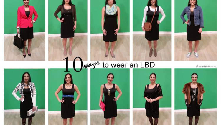 10 sätt att bära en liten svart klänning på  Lita på Tric