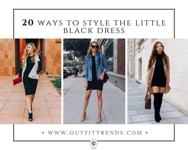 20 outfitidéer om hur man bär liten svart klänning i 20