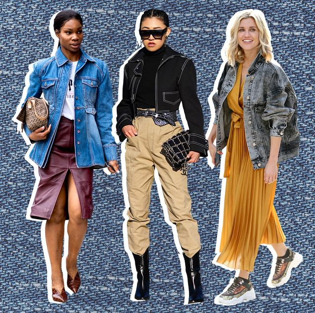 6 snygga denimjacka-outfits - Vad man ska ha på sig med en jeansjacka