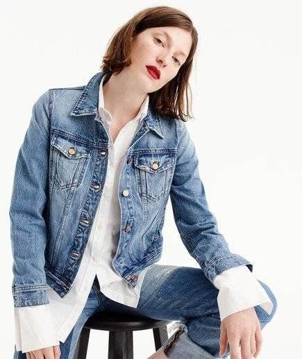 7 snygga jeansjackor att bära med alla kläder |  Klassisk denim.