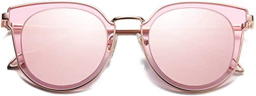 Amazon.com: SOJOS mode runda polariserade solglasögon för kvinnor.