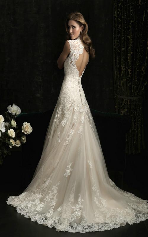 Bästa vintage spets bröllopsklänningar för att inspirera dig - Sang Maest