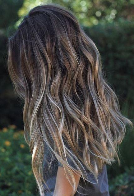 Bästa fräscha hårfärgsidéer för mörkt hår - PoPular Haircuts.