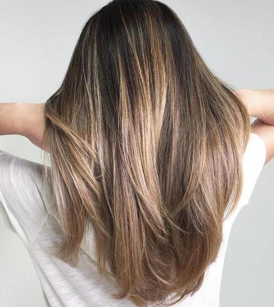 Enastående topp 10 trendigaste hårfärgsidéer för brunetter https.