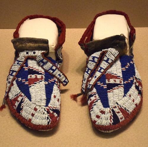 Lakota Moccasins - Carnegie Museum of Natural Histo