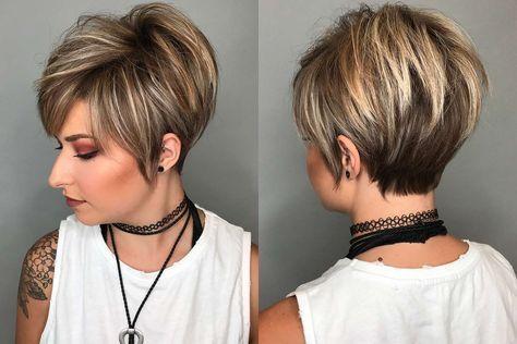 15 Snygg och trendig kvinna med kort frisyr 2018 |  Snygg.