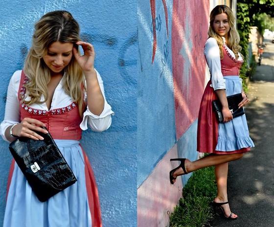Fashiontwins - H&M Clutch, Zara Shoes, Hugo Boss Bluse - Elegant.