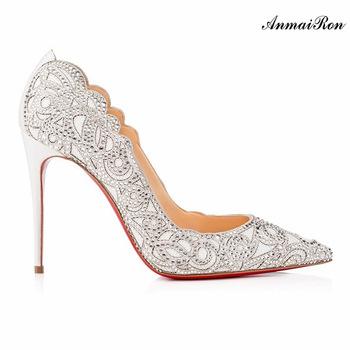 Tillverkning kväll bröllop vit klänning skor brud kvinnor - köp.