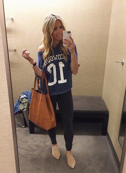Speldagskläder, Dallas Cowboys    Cowboykläder för kvinnor.