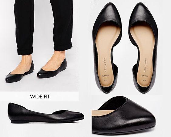 22 legitimt söta skor för damer med breda fötter |  Breda skor.