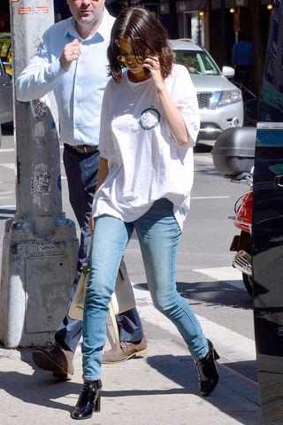 Selena Gomezs bästa utseende - Selena Gomez Street Sty