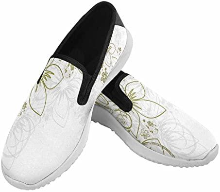 Amazon.com |  VIC Kvinnor Flat Canvas Skor Mode Sneaker med.