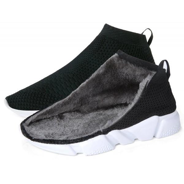Kvinnors avslappnade andningsbara vintervarma bomullsfodrade skor.