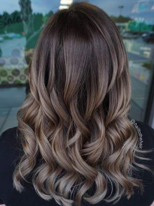 13 idéer för hårfärg för brunetter |  Brunett hårfärg, svamp.