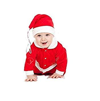 Köp Santa Claus Dress Costume for Boys Girls Kids (0-12 månader) av.
