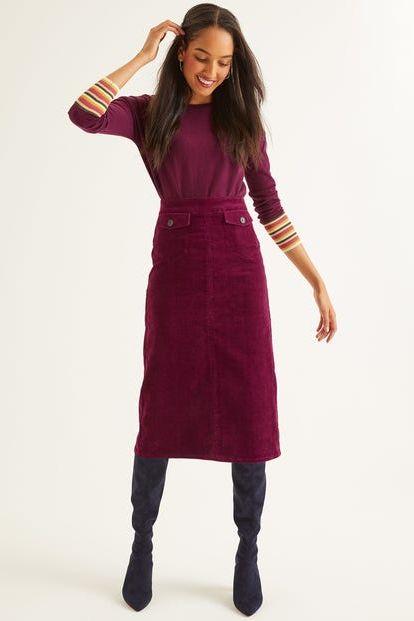 Bästa corduroy kjol - Corduroy kjolar på high stre