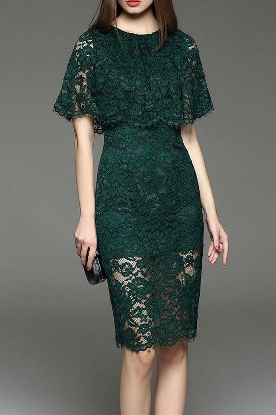 20 spetsdesigner för att inspirera din nästa klänning |  Spetsklänning .
