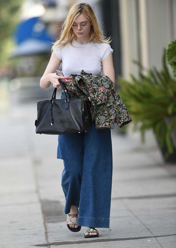 Prisvärd Elle Fanning Outfit ser ut att du måste kopiera    Kändis.