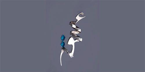 alef-dall design / amir hossein delbary smycken designer.