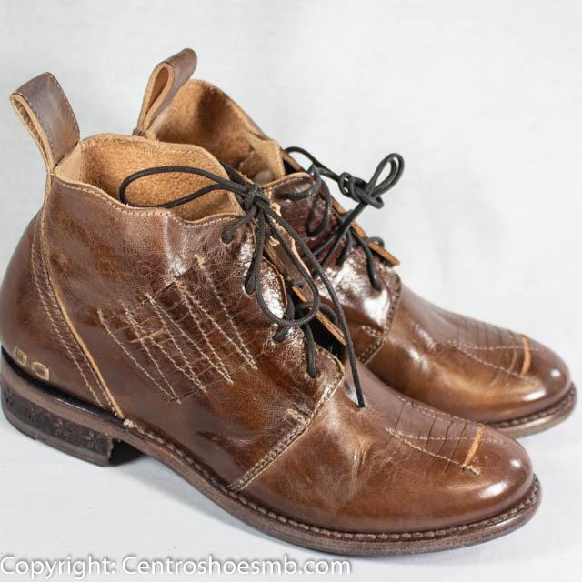Bed Stu - barkley - tan mason - Centro Shoes, In