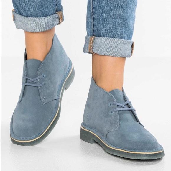 Clarks skor    Original Desert Boot för kvinnor    Poshma