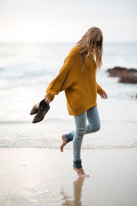 Bär aldrig detta outfit när du är på stranden 2020 |  Tröja .