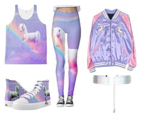 Bästa Unicorn Theme Outfit Idéer    Abbigarlamento, Pigiama-parti, Abi
