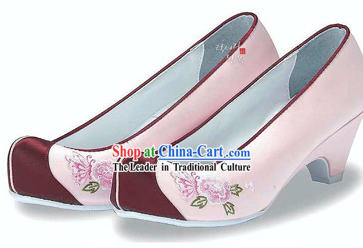 Traditionella koreanska skor för Wom