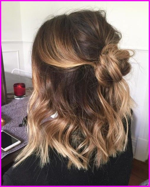 50 enkla och söta frisyrer för medelstort hår, |  Medium.