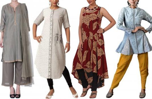 Trenden för moderna designer tunikor |  Indian Fashion Bl