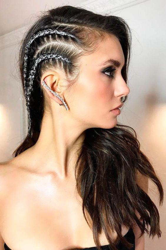 13 Smart frisyr för nyårsafton |  Frisuren, Geflochtene haare.