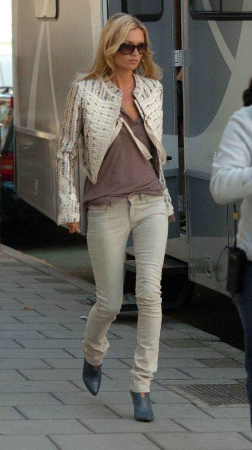 KATE MOSS Street Style Muse - Erika Brechtel |  Kate moss street.