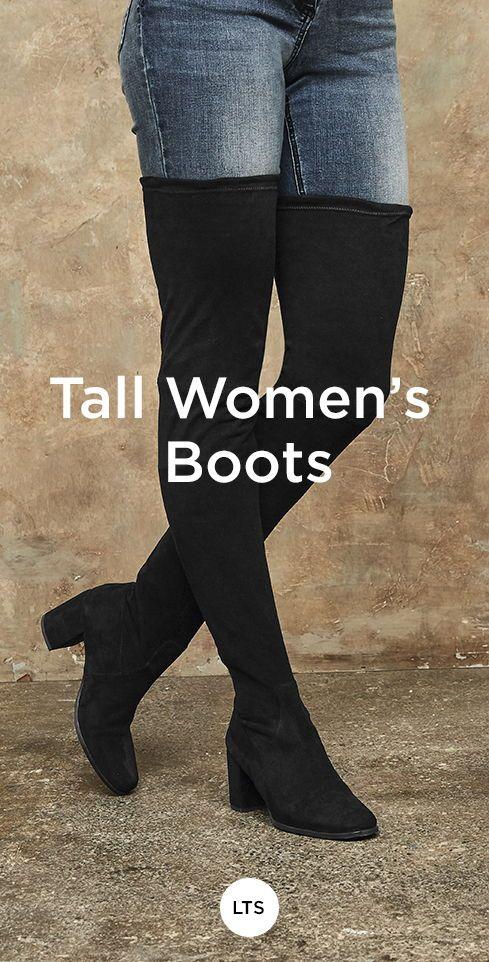 Höga damskor  Boots, Womens boots, Womens tall boo