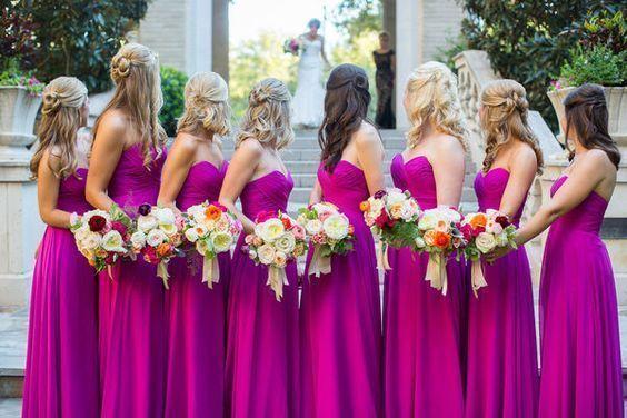 15 underbara bröllopsfotoidéer för dina brudtärnor    Magenta.