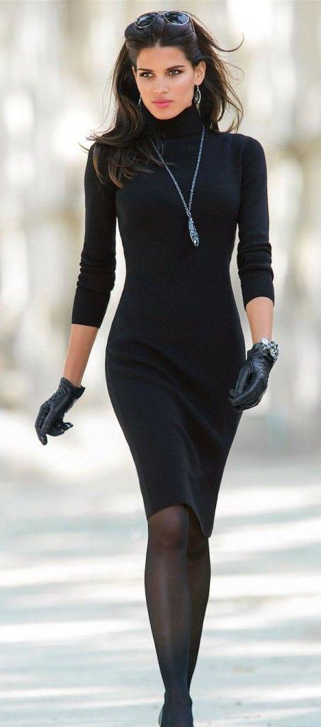 20 snygga svarta outfitidéer för din semester - Outfit Ideas HQ.