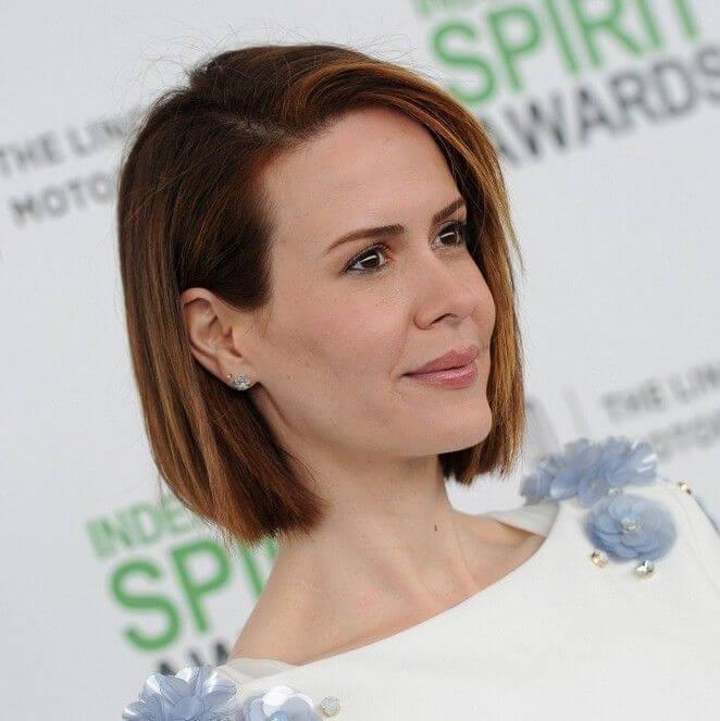 Sarah Paulsons korta frisyrer och hårklippningar - 1