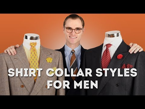 Shirt Collar Styles for Men: A Complete Guide - Point, Cutaway.