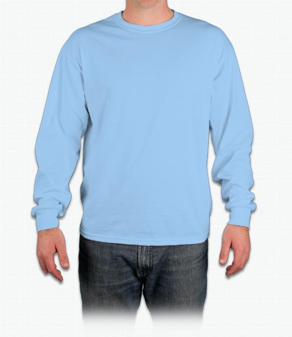 Anpassad Gildan T-shirt med lång ärm i bomull - Design Onli